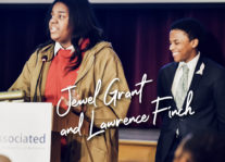 Honoring Congressman Elijah Cummings: Jewel Grant and Lawrence Finch   The Associated Nav Image