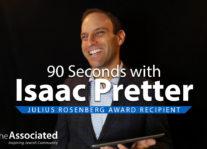 Isaac Pretter   2018 Julius Rosenberg Award Recipient Nav Image