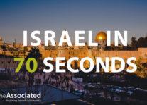 Israel in 70 Seconds Nav Image