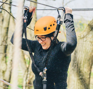 What Is Jewish About A Ropes Course? Image