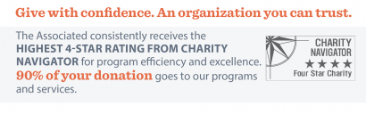 Give with confidence. An organization you can trust