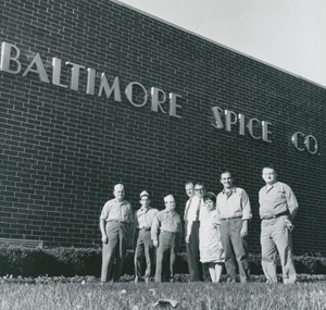 Immigrants working at Baltimore Spice Co., 1960's.