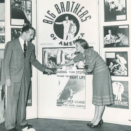 Big brothers of America booth